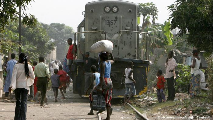 Eisenbahn in Kinshasa