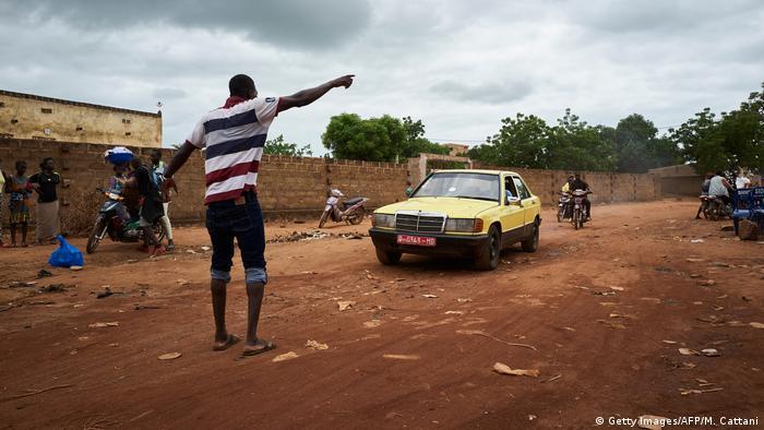 Straße in Mali