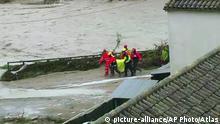 Spanien Überflutungen im Südosten