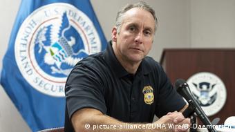 USA Texas ICE Direktor Matthew Albence (picture-alliance/ZUMA Wire/B. Daemmrich)