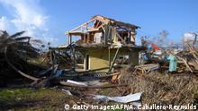 Bahamas Zerstörung nach Hurrikan Dorian