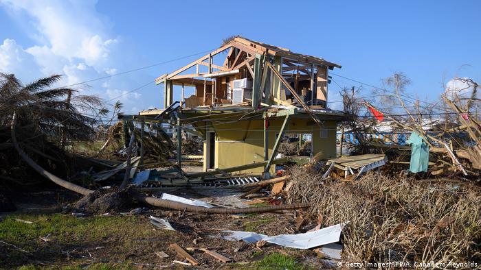 Руйнування на Багамах внаслідок урагану Доріан