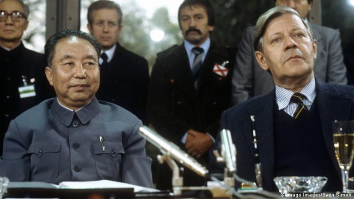 BG China | Der Wandel beginnt 04 | Premierminister Hua Guofeng und Bundeskanzler Helmut Schmidt (Imago Images/Sven Simon)