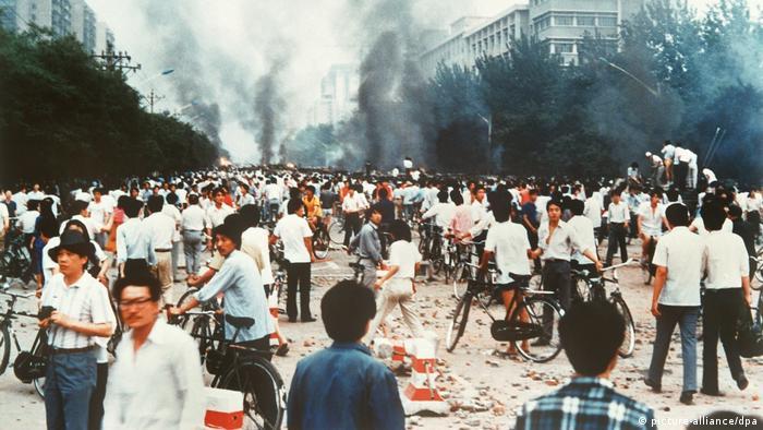 BG China   Das Jahrzent der Proteste 07   Niederschlagung der Demokratiebewegung in China