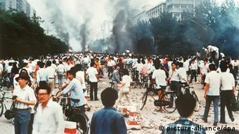 Οι διαμαρτυρίες των φοιτητών στο Πεκίνο το 1989