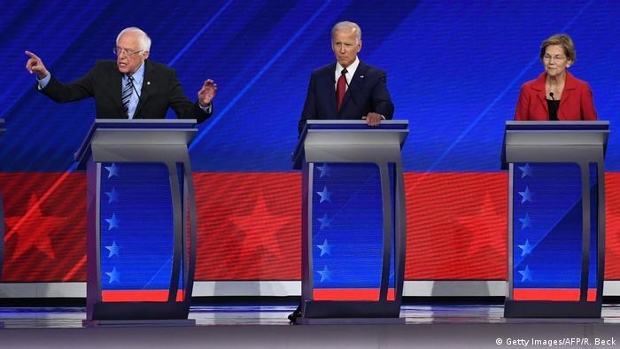 Теледебаты потенциальных кандидатов на пост президента США от Демпартии, сентябрь 2019 года