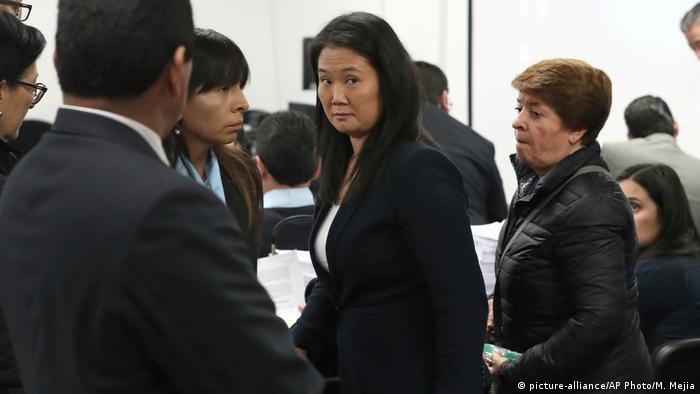 Peru Keiko Fujimori vor Gericht