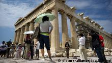 Griechenland Athen Parthenon-Tempel auf Akropolis