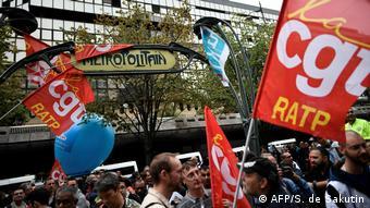 Γενική απεργία στη Γαλλία σημαίνει (και) χάος στις συγκοινωνίες