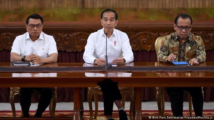 Joko Widodo Präsident Indonesien