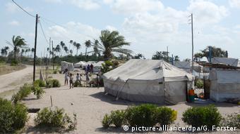 Mosambik Sechs Monate nach dem tropischen Wirbelsturm Idai