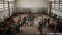 Zyklon Ikai | Evakuierungszentrum in Mosambik