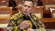 New Chairman of Indonesia's Corruption Eradication Commision Firli Bahuri. Rights: Rachman Haryanto/detikcom am 13.9.2019