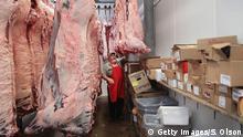 USA Handelsstreit mit China   Fleisch-Verarbeitung in Iowa