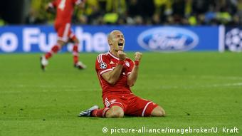 For Arjen Robben, victory, courtesy of his late goal, was sweet after a poor performance in the final the year before