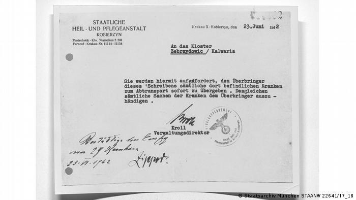 Podpisane przez Krolla polecenie wydania 30 chorych ze szpitala w Zebrzydowicach