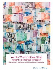 Titelblatt Studie Seidenstraße Bertelsmann Stiftung