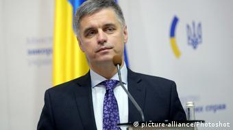 Голова міністерства закордонних справ України Вадим Пристайко