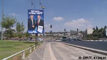 Israel vor der Wahl 2019   Wahlplakat Netanjahu