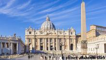 Italien, Rom: Petersdom