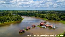Pousada Mamirauá na Amazônia
