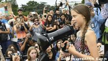 Thunberg protestiert vor Weißem Haus