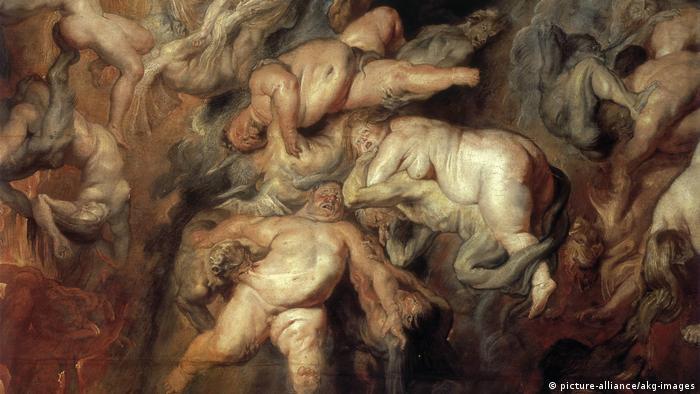P.P. Rubens, Höllensturz der Verdammten (picture-alliance/akg-images)