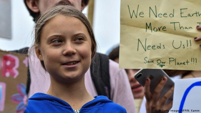Greta Thunberg na demonstracijama pred Bijelom kućom u Washingtonu