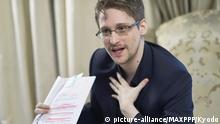 Edward Snowden (picture-alliance/MAXPPP/Kyodo)