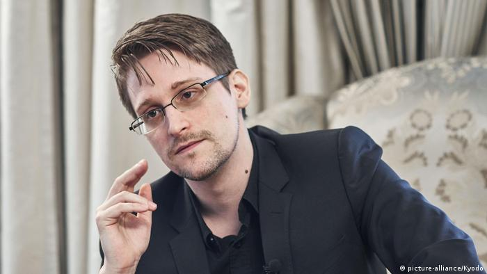 Edward Snowden (picture-alliance/Kyodo)