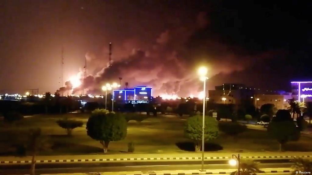تقرير تحقيق أمريكي يقول إن هجمات أرامكو جاءت من الشمال أخبار Dw عربية أخبار عاجلة ووجهات نظر من جميع أنحاء العالم Dw 19 12 2019