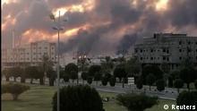 Saudi-Arabien Abqaiq Feuer in Aramco Raffinerie