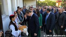 Bosnien-Herzegowina Besuch des serbischen Präsidenten Aleksandar Vucic
