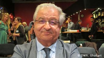 Bochum | Professor Jalal Idjadi, iranischer Soziologe während Iran Konferenz (DW/K. Ghahari )