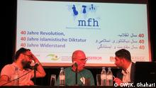Bochum | Iran Konferenz | Ali Fathollah-Nejad, Andreas Zumach, und Bamdad Ismaili