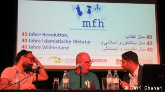 علی فتحاللهنژاد، آندرئاس سوماخ و بامداد اسماعیلی (از چپ)