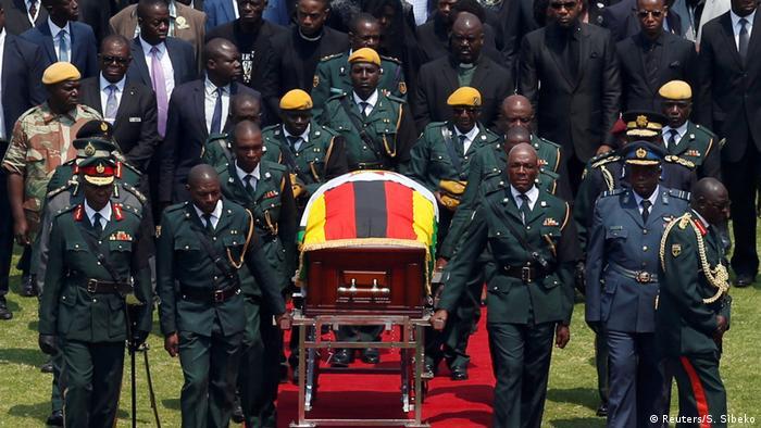 Simbabwe Beerdigung von Robert Mugabe