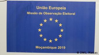 Mosambik Maputo | Wahlbeobachtungsmission der Europäischen Union: Logo