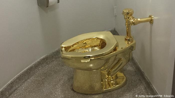 Gold toilet stolen from Britain's Blenheim Palace
