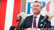 Österreich | Bundesparteitag FPÖ| Norbert Hofer (picture-alliance/AP Photo/M. Gruber)