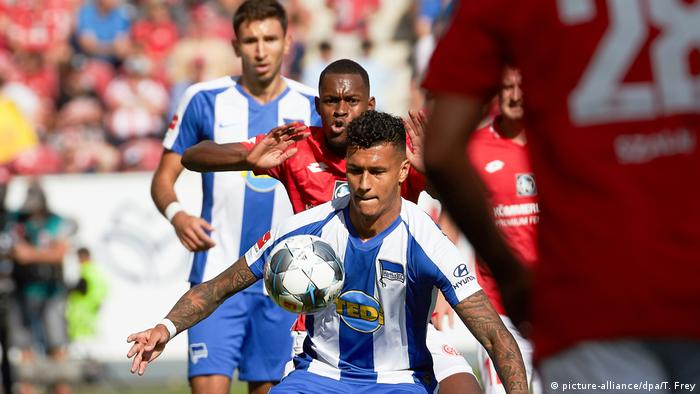 Fussball 1 Bundesliga FSV Mainz 05 vs. Hertha BSC Berlin (picture-alliance/dpa/T. Frey)