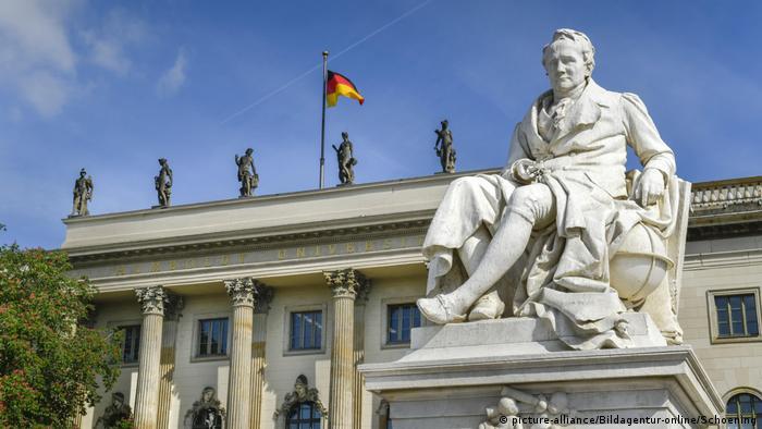 Deutschland Alexander von Humboldt Humboldtuniversität Berlin (picture-alliance/Bildagentur-online/Schoening)