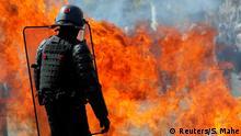 Frankreich Zusammenstöße bei «Gelbwesten»-Protest in Nantes
