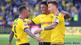 Sancho, Alcacer and Reus are proving a key trio for BVB