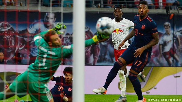 Deutschland RB Leipzig gegen Bayern München (imago images/opokupix)