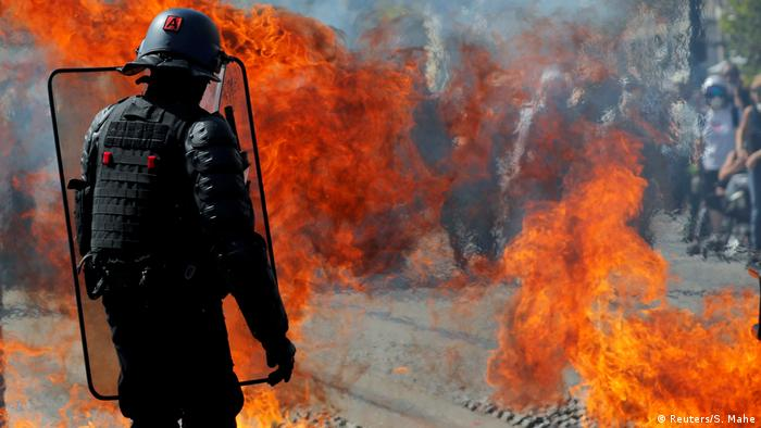 Frankreich Proteste in Nantes