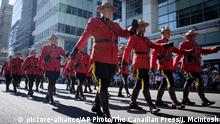 Kanada Royal Canadian Mounted Police in Calgary