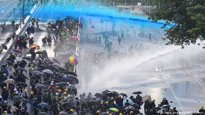 Під час акції протесту в Гонконгу