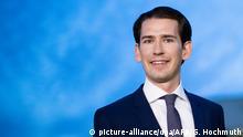 Österreich Wien | Parteivorsitzender der ÖVP Sebastian Kurz