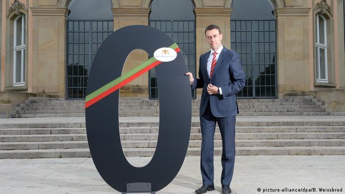 Baden-Württemberg Finance MInister Nils Schmid (picture-alliance/dpa/B. Weissbrod)